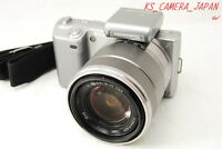 ,exc++++, Sony Alpha Nex-5k 14.2 Mp Digital Camera Silver W/ E Oss 18-55mm Lens - sony - ebay.com