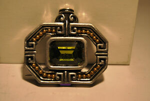 Vintage Signed Fahrenheit New York Design Brooch