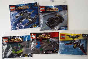 Lego Polybags Super Heroes 30305, 30303,30301,30524,30300