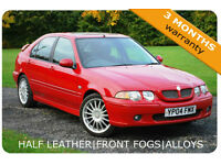 2004 MG ZS 1.8 120 Half Leather|Rear Spoiler|Alloys|Long MOT