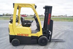 chariot élevateur,fork lift,hister S50 FT,propane,caushion,