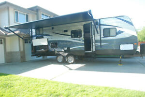 Camp in comfort in a 24 foot travel trailer