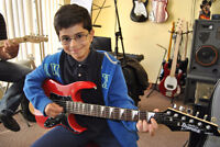 Guitar lessons for beginners and advanced in Woodbridge.