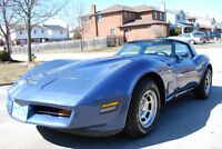 1980 Corvette with T-Tops