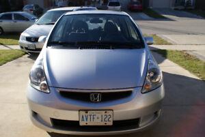 2007 Honda Fit Sedan