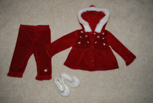 Christmas outfit for a girl