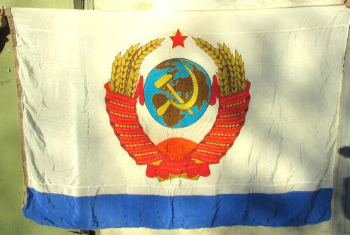 Russian USSR flag commander-in-Chief of the Navy battleship Naval Fleet VMF
