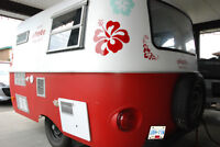 New Shave Ice Boler concession trailer for health reasons.
