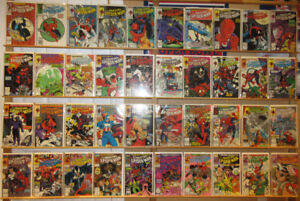 The Amazing Spider-Man (1st series), comic books, #300 to #378