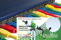 Cat5e FT4/CMR Cable Full Installation Starting @ $75 per line