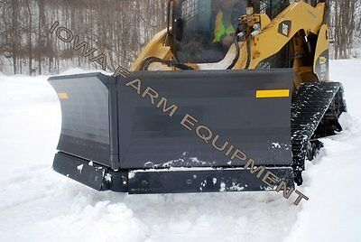 Ffc 120 Skid Steer Quick Attach 5 Way V Plow V Blade Snow Bladesnow Plow