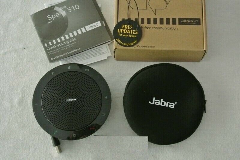 6b242f331aa Jabra SPEAK 510 USB/Bluetooth Portable Conference phone | in ...