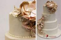 We specialize in making custom wedding and special occasion cake