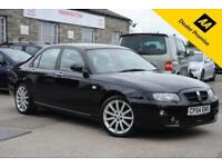 2004 (54) MG ZT 2.5 V6 190 PLUS 4 DOOR SALOON BLACK 188 BHP PETROL MANUAL