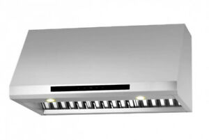"850cfm 36"" ANCONA PRO SERIES DUALFAN Stainless UnderCabinet Hood"