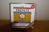 Barron's Mastering French Book & 12 Cassettes Language Kit $50