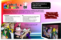 Photobooth and DJ Services for your Wedding or other event