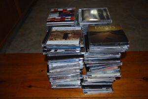 CD's over 100 of them !