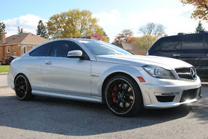2013 Mercedes-Benz C63 AMG Coupe Performance Package No Accident