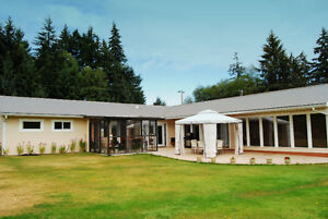 Beautiful rancher home, plus additional rental home on acreage