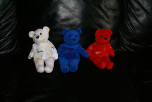 beanbag plush salvino's BAMMERS Dominik,Steve,Brett lot of 3