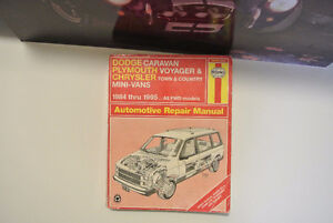 Haynes DODGE Caravan, PLYMOUTH Voyager Chrysler town and Country
