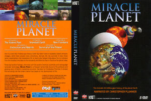 Miracle Planet -5 DVDs new