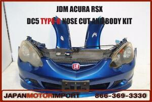ACURA RSX K20A DC5 FRONT NOSE CUT CONVERSION BUPMER JDM