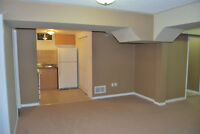 1 Bedroom + Den open concept basement apartment