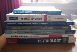 First Year Criminal Justice Textbooks