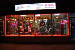 Commerce et importation de materiel de moto et scooter