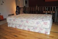 Sealy Queen mattress and box spring