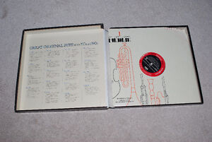 Great Original Hits of the 50's and 60's Collector's Edition LPs Kitchener / Waterloo Kitchener Area image 3