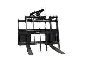Jenkins HEAVY DUTY Pallet Forks Grapple Skidsteer Attachment Comox / Courtenay / Cumberland Comox Valley Area image 2