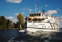 DECKHAND POSITION on St. Lawrence River Cruise Ship