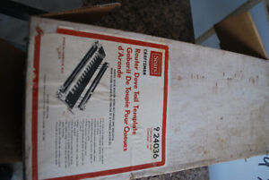 Craftsman router dove tail template