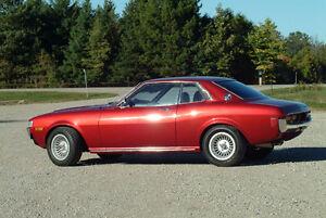 Appreciating Classic - Restored 1977 Toyota Celica