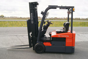 Chariot elevateur,Forklift,sideshift,electric, toyota 7fbeu15