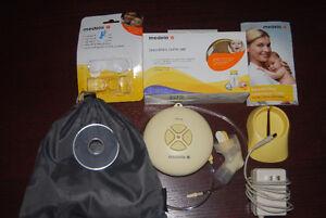 Breast pump gently used