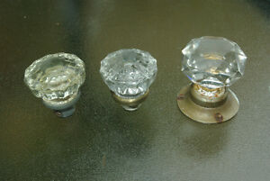 CRYSTAL GLASS DOORKNOBS
