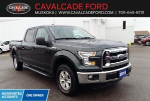2015 Ford F150 4x4 Supercrew XLT with backup cam, one owner!!
