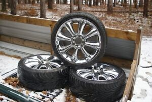 3 Low Profile Tires - Size 205 40 17.