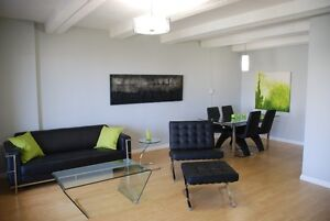 Modern Furnished and Equipped, Excellent Down Town Location!