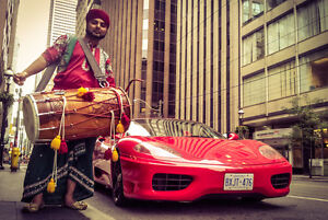 Toronto's Finest Dhol Players at your Service....