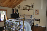 Antique Brass bed frame