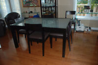 Dinning Set- Table, Buffet and 6 chairs