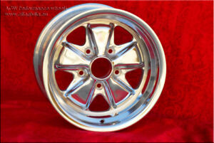 2 pcs. wheels Porsche Fuchs 9x15 5x130 ET15 polished