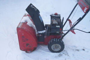 "22""Mastercraft Snowblower (FOR SALE OR TRADE)"
