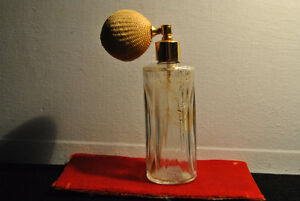Vintage Faberge Bottle  Atomizer