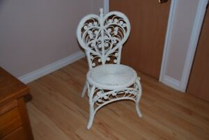 Victorian Cane and Wicker chair